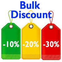 Bulk discount pricing