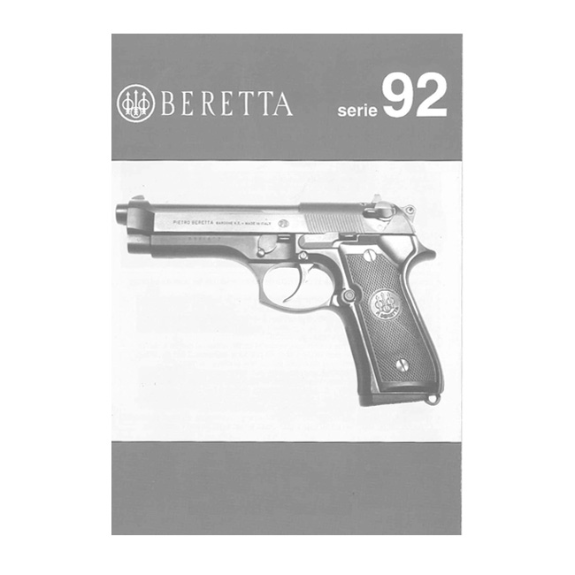Beretta cheetah print Owners Manual Beretta Owner's Manual Request