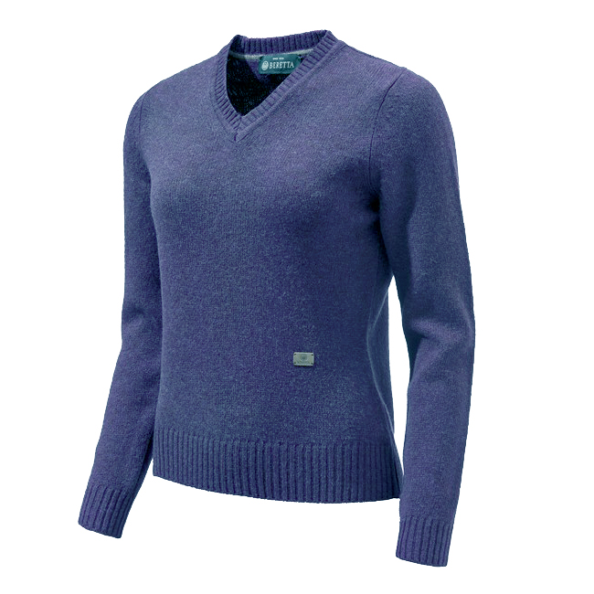 Beretta Pheasant V Neck Sweater Woman