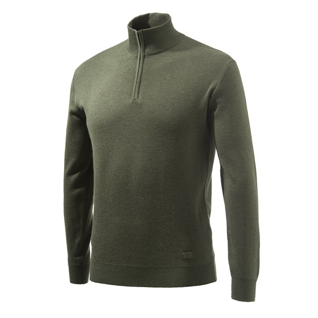 Beretta Light Merino Half Zip Sweater