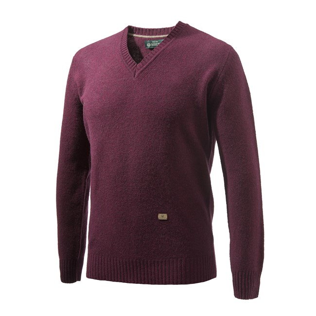 Beretta Pheasant V Neck Sweater Man