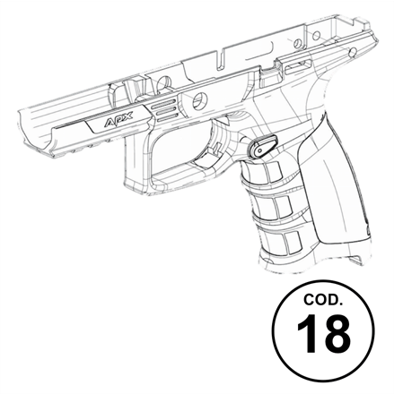 Apx Spare Parts Code 18 Frame Assembly