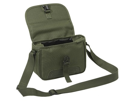 Beretta Leather Cartridge Bag Dark Brown 100 Cartridges BS461