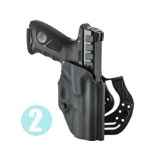 Beretta Holster with Paddel and Pas Wilson for APX Full Size