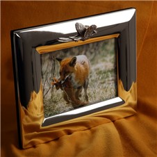 Beretta Silver Plated Frame with Pheasant