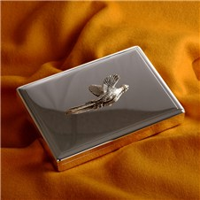 Beretta Notes Holder with Silver Pheasant