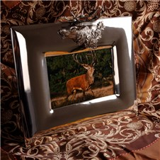 Beretta Bilaminated Silver Frame with Deer Head