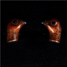 Beretta Grouse Head Silver Cufflinks