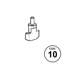 Ricambi APX Codice 10: Chiavistello Percussore