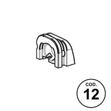 Ricambi APX Codice 12: Coperchio Posteriore