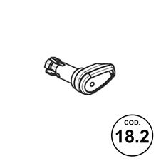 Ricambi APX Codice 18.2: Bottone Azionamento Sgancio Caricatore