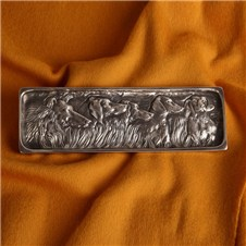 Beretta Silver Plated Tray Bloodhound