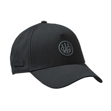 Beretta Rubber Patch Logo Cap Black