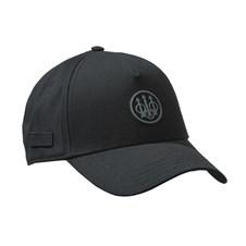 Beretta Rubber Patch Logo Cap Black