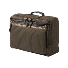 Beretta by Campomaggi Washed Canvas & Leather Laptop Backpack