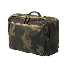 Beretta Washed Canvas Camo & Leather Laptop Backpack