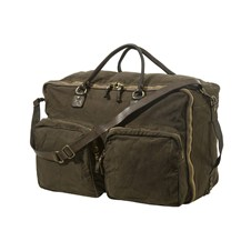 Beretta by Campomaggi Washed Canvas & Leather Travel Bag