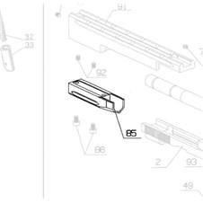 Counterweight Rail for Beretta 87 Target