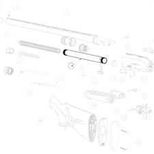 Beretta Reduced Magazine Tube 2Rds A400 Lite 12 Ga
