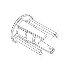 B-Lock Front Cap Disassembly Tool
