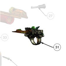 """3.5"""" Trigger Group for A400 12 Ga Long Carrier - Max5"""