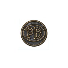 """Beretta """"PB"""" Logo Plate"""