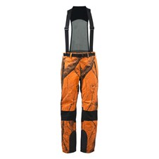 Suspender Active Pants Blaze Orange Camo