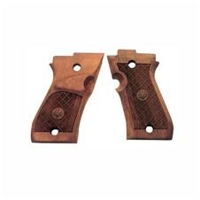 Beretta 87 Target Wood Grips (left handed)