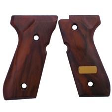 Beretta 92/96/98 Walnut Briar Grips w/Plate