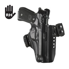 Beretta Leather Holster Model 03 - Strip Contour, Right Hand - 92/96/98