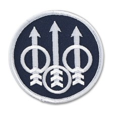 Beretta Velcro Tactical Trident Logo Patch