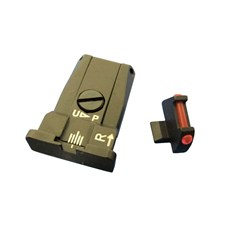 Beretta Hausse Réglable et Guidon Fibre Optique 92A1/96A1