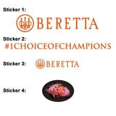 Nuevas Pegatinas Beretta Naranja