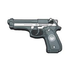 Beretta 92 Series Rubber Magnet