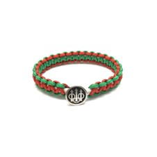 Bracelet Sterling Silver Logo - Italy Flag Colors