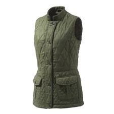 Wool Quilted Vest Woman