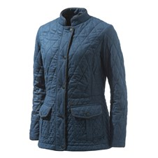 Wool Quilted Coat Woman