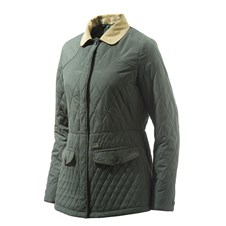 Tulip Quilted Coat Woman