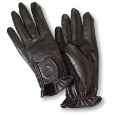Beretta Calfskin Shooting Gloves Black Logo