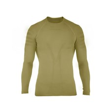 Beretta Seamless Long Sleeve Shirt in Light Brown