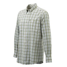 Beretta Men's Seersucker Travel Shirt