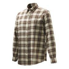Wood Flannel Button Down Shirt