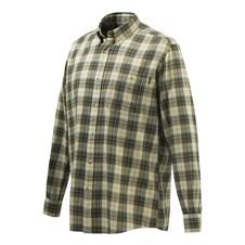 Wood Flannel Button Down Shirt
