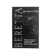 Beretta PX4 Storm Full Size Owner Manual (IT - ENG - FR - ES)