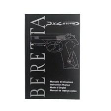Beretta Manuale d'Istruzione PX4 Storm Full Size (IT - ENG - FR - ES)