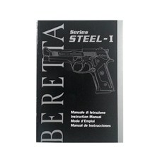 Beretta 92A1 Owner Manual (IT - ENG - FR - ES)
