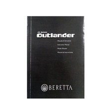 Beretta A300 Outlander Owner Manual (ENG, ITA, FR, ES)