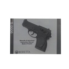 Beretta Manuale d'Istruzione 9000 S (IT - ENG - FR)