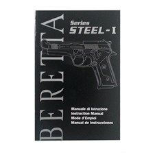 Beretta STEEL-1 Owner Manual (IT - ENG - FR - ES)