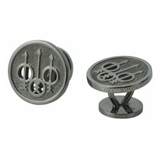 Beretta Black Rhodium Plated Cufflinks